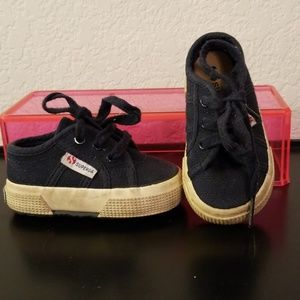 Superga Baby Size 4 Navy